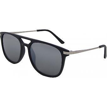 Solglasögon Unisex Wayfarer Kat. 3 svart/silver (8310-C)