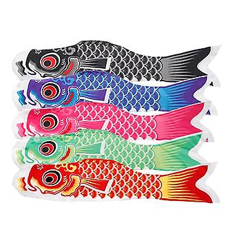 Koi Nobori Carp Wind Calzini Colorati Pesce Bandiera Hanging Wall Decor