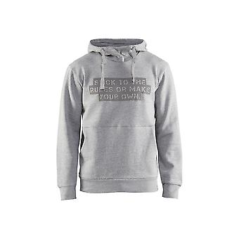 Blaklader 9173 sudadera gris stick-to-rules sudadera con capucha - hombres (91731157)