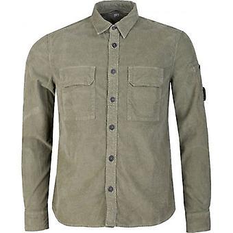 C.p Company Arm Lens Cord Shirt