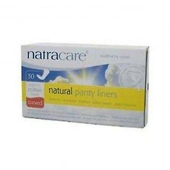 Natracare - Natural Pantyliners Curved 30pieces