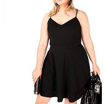 B Darlin | blonder åpen rygg parti kjole