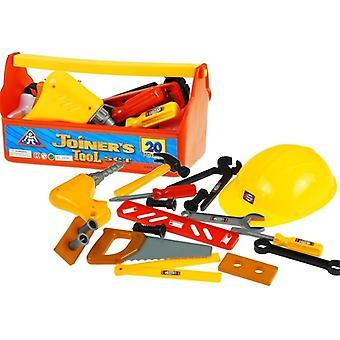 20-delige gereedschapsset verpakt in een doos voor kinderen