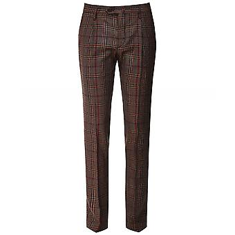 Briglia 1949 Slim Fit Prince Of Wales Check Trousers
