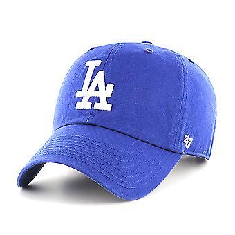 47 Brand MLB Los Angeles Dodgers Clean Up Cap - Royal Blue
