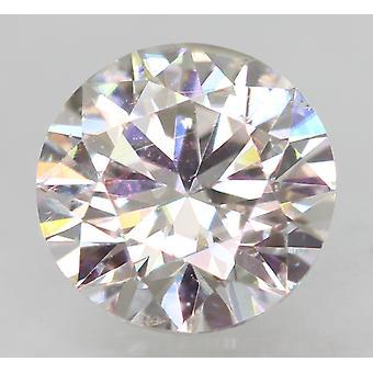 Gecertificeerd 0.53 Karaat E VVS2 Ronde Brilliant Enhanced Natural Loose Diamond 5.17m