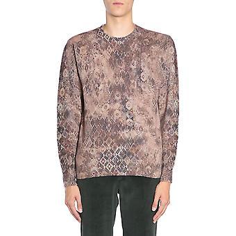 Etro 1m0649707802 Men's Beige Wool Sweater
