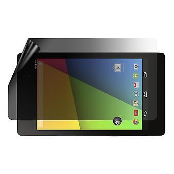 הפרטיות celicious לייט 2-Way נגד בוהק אנטי מרגל מסנן מסך מגן הסרט תואם Google Nexus 7