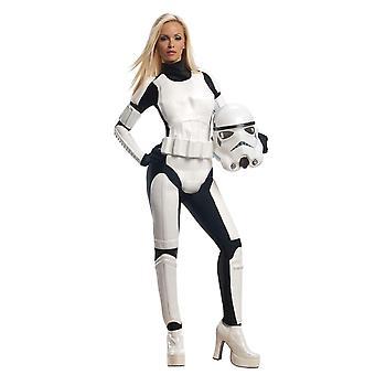 Disney Halloween Fancy Dress Costume Adult Female - Star Wars - Storm Trooper
