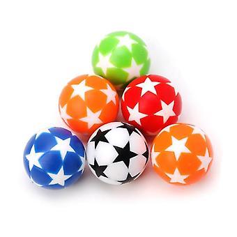 2pcs 32mm Plastique Table Soccer Ball- Football / Foosball / Fussball Machine