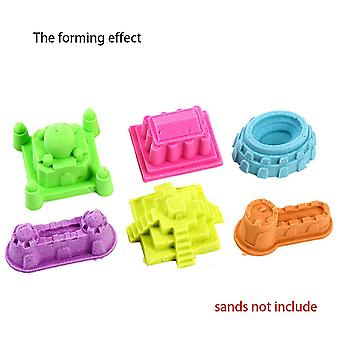 Motion Mold Beach Sand Castle Plastic Fun Toys Improve Practical Ability