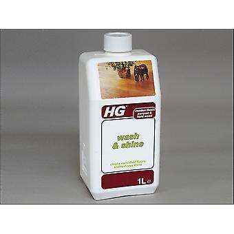 HG 53 Parketta mosás és ragyogás 1L