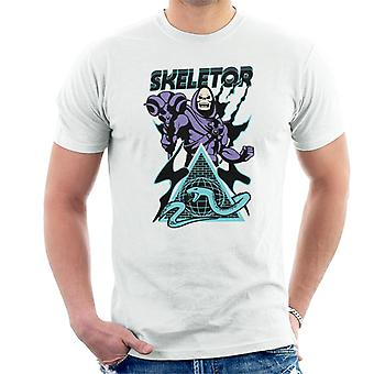 Masters Of The Universe Skeletor Snake Mountain Men's T-Shirt