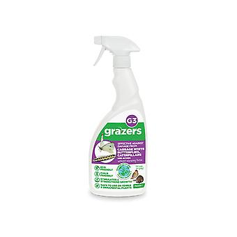 Grazers G3 Cabbage Butterfly/Caterpillar Ready To Use 750ml