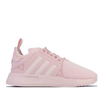 Girl's adidas Originals Infant X PLR Trainers in Pink