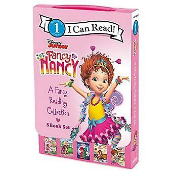 Disney Junior Fancy Nancy: Een Fancy Reading Collection: 5 Ik kan paperbacks lezen! (Ik kan niveau 1 lezen)