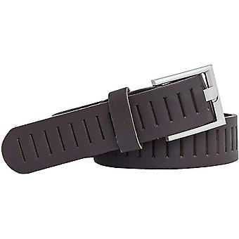 Shenky punched leather belt 3cm