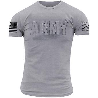 Grunt Style Army - Blackout T-Shirt - Heather Gray