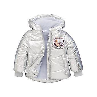 Mädchen TH1072 Disney Frozen Hooded Jacke Silber