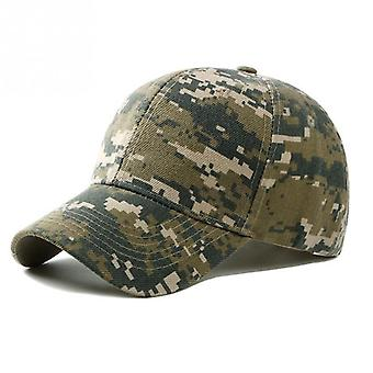 Outdoor Sport Camouflage Military Cap For Adults