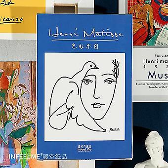 Henri Matisse Retro Oil Painting Postcard, Color Paradise Greeting Cards, Xmas