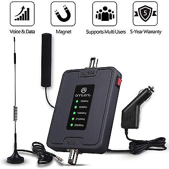 2g 3g 4g Lte Mobile Phone Signal Booster 700/900/1800/2100/2600mhz