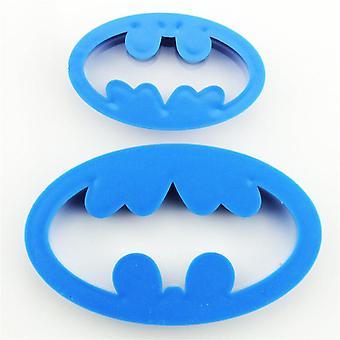 Batman-logon evästeleikkurin leima
