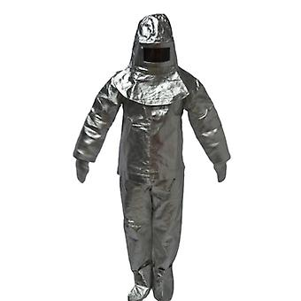 Heat Insulation Retardant Clothing Full Set - Fire Entry Aluminium Foil