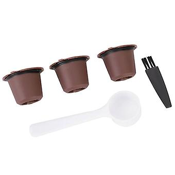 Wiederverwendbare Kaffeekapseln Filter nachfüllbare Kapseln Cup Fit für Kaffeemaschine