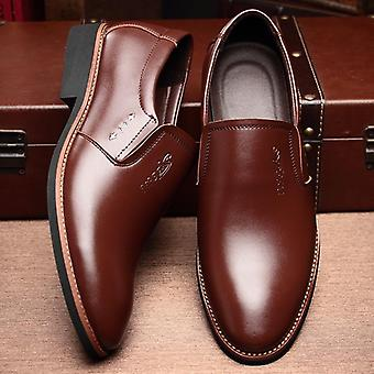 Männer Luxus Marke Casual Leder Loafers Leder Schuhe Schuh