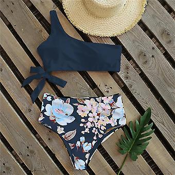 Szexi új váll fürdőruha magas derék kötszer fürdés beach női