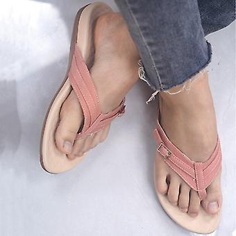 Summer Fashion Beach Flip Slip Casual Flat Slides Ladies Sandals