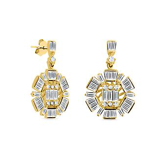 Earring Rio 18K Gold and diamonds