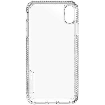 Tech21 Protective Apple iPhone XR Ultra Thin Back Cover with BulletShield Protection - Pure Clear