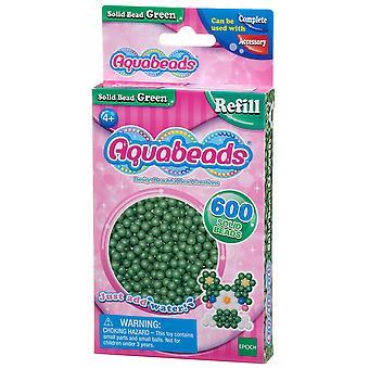 Akvagyöngyök - tömör gyöngyök - zöld
