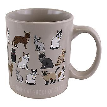 Stoneware Pet Cat Mug 12oz