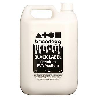Brian Clegg Black Label PVA Glue 5 Litre