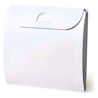 BigBuy White XL Mask Case (Health & Beauty , Personal Care , Cosmetics , Cosmetic Sets)