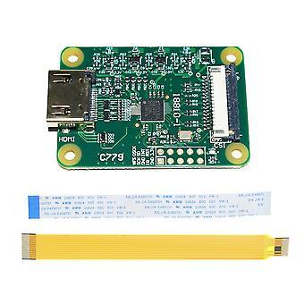 Lusya Standard Hdmi-compatible To Csi-2 Adapter Board For Raspberry Pi 4b 3b