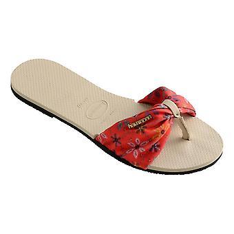 Havaianas You Saint Tropez Flip Flops - Beige