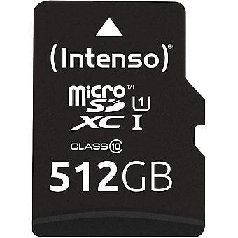 Wokex Micro SDXC 512GB Klasse 10 Speicherkarte inklusiv SD-Adapter (UHS-I)