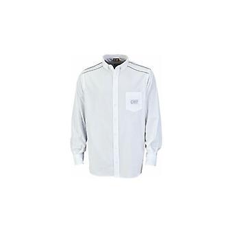 Menns Langermet Skjorte OMP Hvit