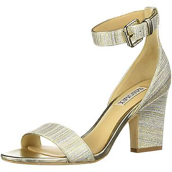 BADGLEY MISCHKA Women's Shoes Loreen Fabric Open Toe Casual Ankle Strap Sandals