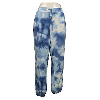 Alle Worthy Hunter McGrady Women's Pants Tie Dye Print Jogger Blauw A387048