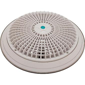 """AquaStar A10RCFR101 10"""" Round Outlet Cover with Mud Frame/Retrofit Kit - White"""