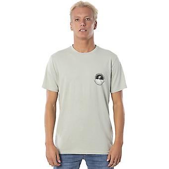 Rip Curl Distant Short Sleeve T-Shirt in Seagrass