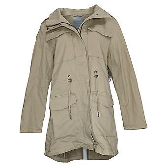 باجيتيل المرأة جمع القطن Anorak معطف البيج A445083