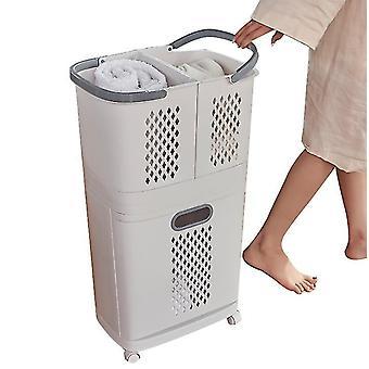 Household Laundry Basket Storage Artifact Toilet Rack