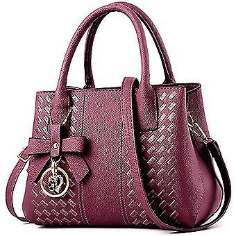 Lila Geldbörsen hbags für Frauen Mode Damen Leder top hle dt6693