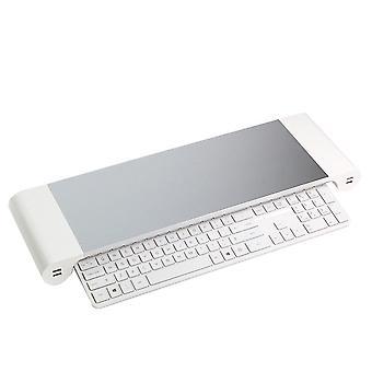 Алюминиевый сплав Монитор Подставка для компьютера Ноутбук Пробел Бар